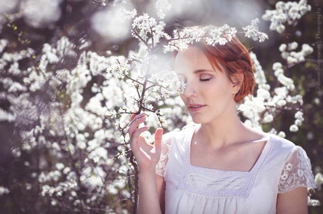 as white as snow Der erste Duft des Frühlings, Vogelstimmengewirr, Leichtigkeit im Herzen ... willkommen lieber Lenz!